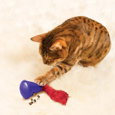 KONG Active Treat Cone Dispenser Toy For Cats