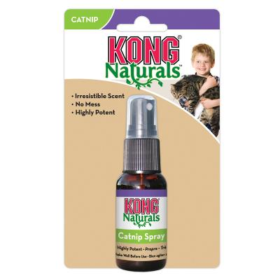 KONG Naturals Catnip Spray For Cats 30ml