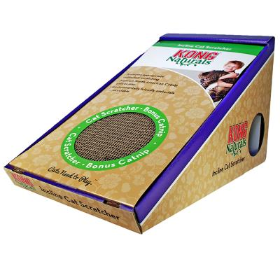 KONG Naturals Incline Scratcher With Catnip Toy For Cats