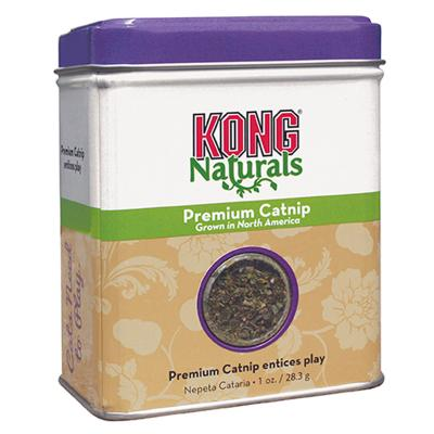 KONG Naturals Premium Catnip For Cats 28.3g