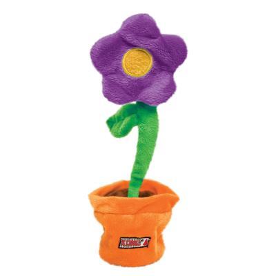 KONG Puzzlements Escape Flowerpot Catnip Toy For Cats
