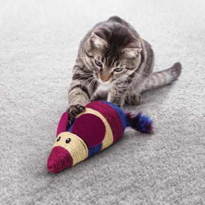 KONG Wrangler Scratcher Mouse Assorted Colour Giant Catnip Toy For Cats