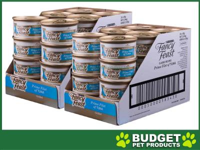 Fancy Feast Prime Filet of Tuna Adult Canned Wet Cat Food 85g x 48