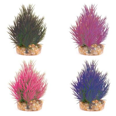 Kazoo Aquarium Fish Tank Single Plant Mini Assorted Colours