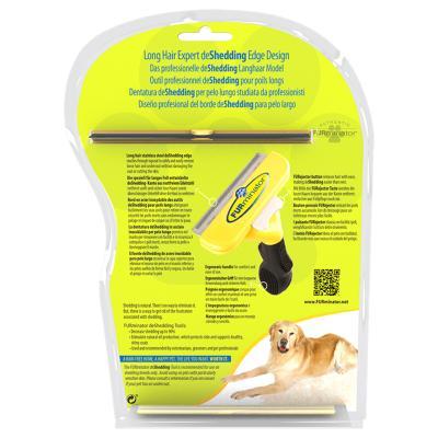 FURminator Deshedding Brush Comb Tool For Long Hair Large Dogs