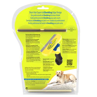 FURminator Deshedding Brush Comb Tool For Short Hair Large Dogs