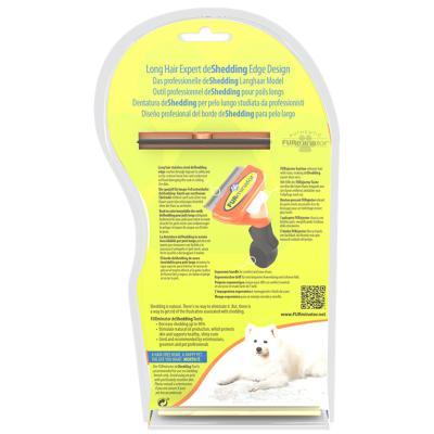 FURminator Deshedding Brush Comb Tool For Long Hair Medium Dogs