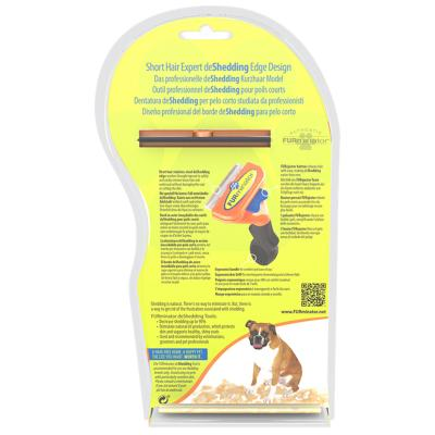 FURminator Deshedding Brush Comb Tool For Short Hair Medium Dogs