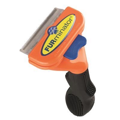 FURminator Deshedding Brush Comb Tool For Short Hair Medium Dogs