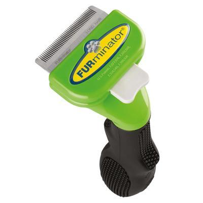 FURminator Deshedding Brush Comb Tool For Long Hair Small Dogs