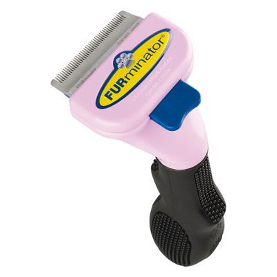 FURminator DeShedding Brush Comb Tool For Short Hair Small Cats