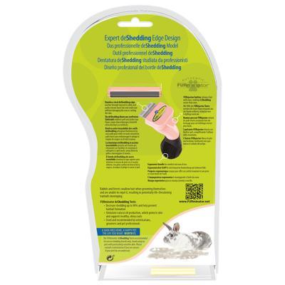 FURminator Deshedding Small Animal Brush Comb Tool For Small Animals
