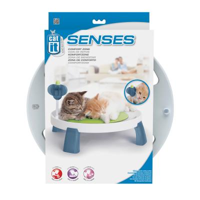 Catit Design Senses Comfort Zone Cooling Raised Activity Bed For Cats