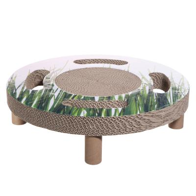 Catit Design Senses Home 3 in 1 Scratcher Activity Toy For Cats
