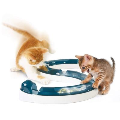 Catit Design Senses Play Circuit Ball Track Toy For Cats