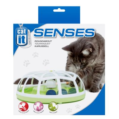 Catit Design Senses Roundabout Spinner Ball Toy For Cats