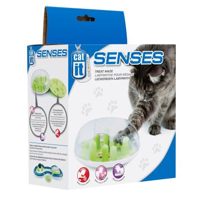 Catit Design Senses Treat Maze Food Dispenser Toy For Cats