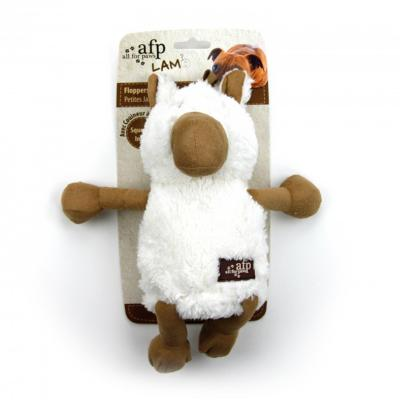 AFP Cuddle Jumbo Farm Floppers Squeaky Horse Toy For Dogs