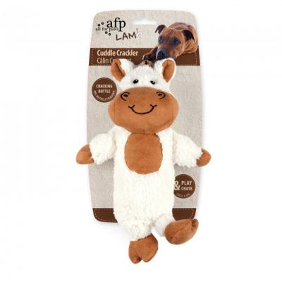 AFP Cuddle Crackler Bottle Horse Toy For Dogs