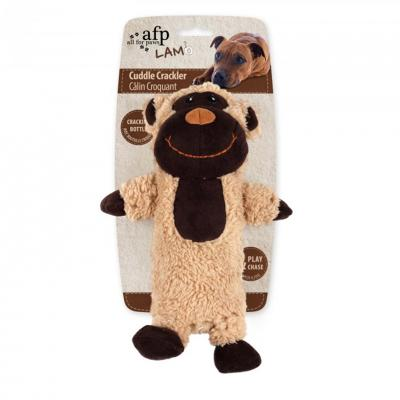 AFP Cuddle Crackler Bottle Monkey Toy For Dogs