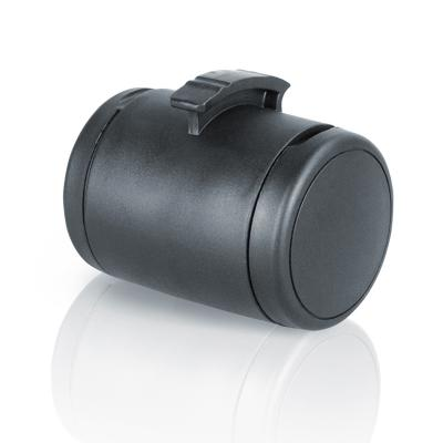 Flexi Retractable Lead Waste Poo Bag Dispenser And Treat Holder Multi Box Black For Dogs