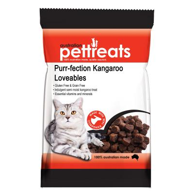 Australian Pettreats Purr-fection Kangaroo Loveables Treat For Cats 80gm