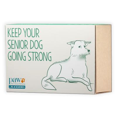 Paw Senior Mature PAWfect Vitality Mobility Supplements And Grooming Pack For Dogs
