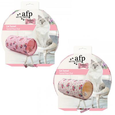 AFP Shabby Chic Summertime Tunnel Play Toy For Cats