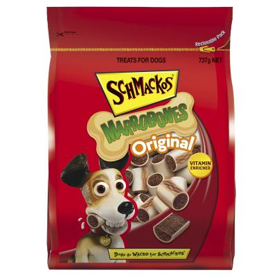 Schmackos Marrobone Original Biscuit Treats For Dogs 737g