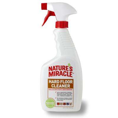 Natures Miracle Hard Floor Cleaner Stain And Odour Remover Spray 709ml