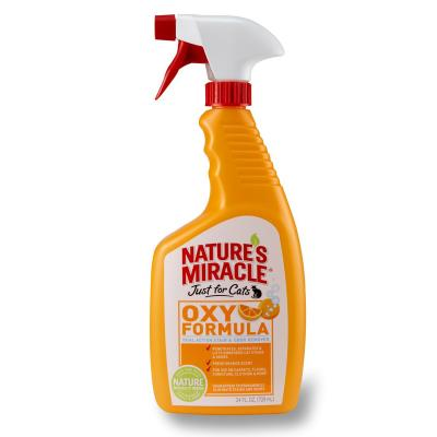 Natures Miracle Just For Cats Orange Oxy Formula Stain And Odour Remover 709ml