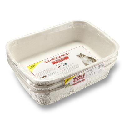 Natures Miracle Disposable Litter Trays Pack Of Three For Cats