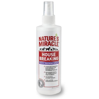 Natures Miracle House Breaking Potty Toilet Training Spray For Dogs 236ml