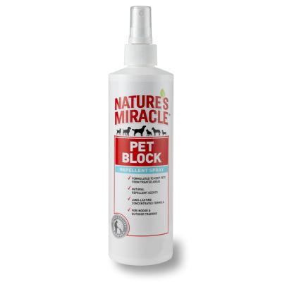 Natures Miracle Pet Block Repel Spray For Dogs 236ml