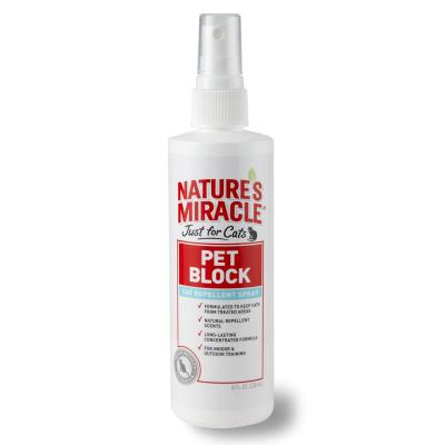 Natures Miracle Just for Cats Pet Block Cat Repellent Spray 236ml