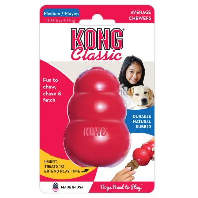 KONG Classic Medium Red Rubber Toy For Dogs