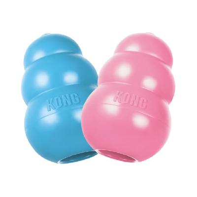 KONG Puppy Large Various Colour Rubber Toy For Dogs