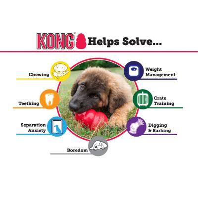 KONG Extreme Large Black Rubber Toy For Dogs