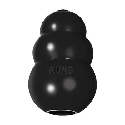 KONG Extreme Medium Black Rubber Toy For Dogs