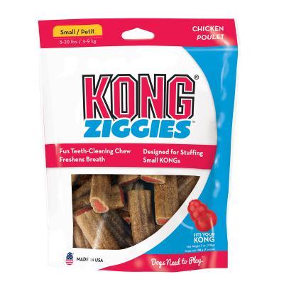 KONG Stuff`n Ziggies Chicken Treat For Small Dogs