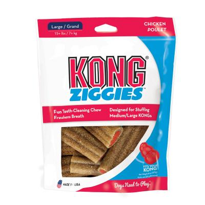KONG Stuff`n Ziggies Chicken Treats For Large Dogs