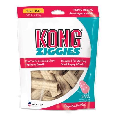 KONG Ziggies Stuffins Puppy Treats For Small Dogs