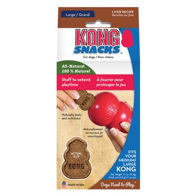 KONG Liver Snacks Stuffin Treats Fits Medium/Large KONGs For Dogs 300gm
