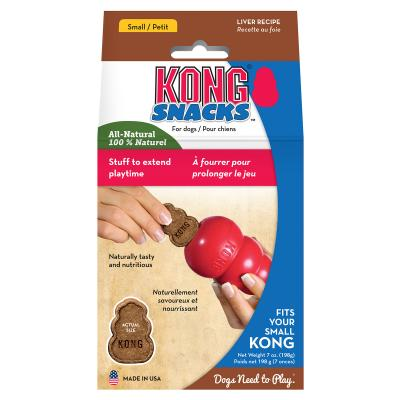 KONG Liver Snacks Stuffin Treats Mini Fits Small KONGs For Dogs 200gm