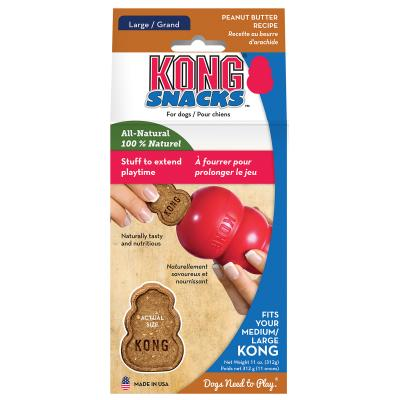 KONG Peanut Butter Snacks Stuffin Treats Fits Medium/Large KONG For Dogs 300gm