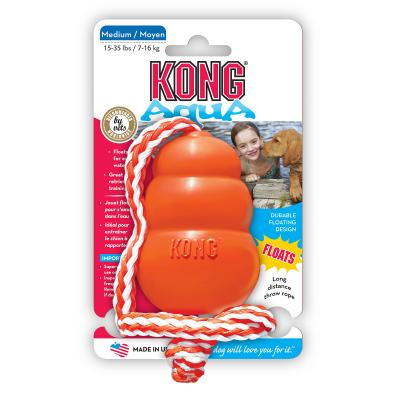 KONG Aqua Medium Rope Floats Toy For Dogs