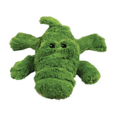 KONG Cozie Ali Alligator Plush Squeak Medium Toy For Dogs