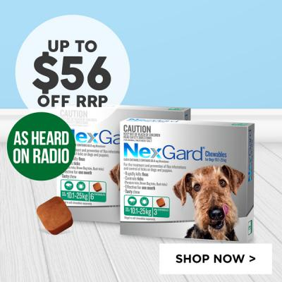 NexGard 9 Packs Up To $56 Off RRP