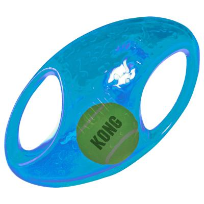 KONG Jumbler Football Medium/Large Toy For Dogs