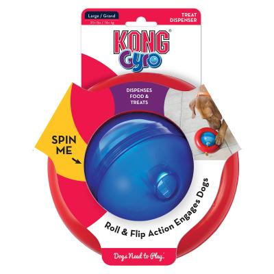 KONG Gyro Treat Dispensing Large Toy For Dogs